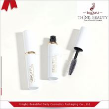 Manufacturers 4ml 5ml Small Empty Metallic Shiny White Mascara Tube/Packaging/Bottle/Container with Ring