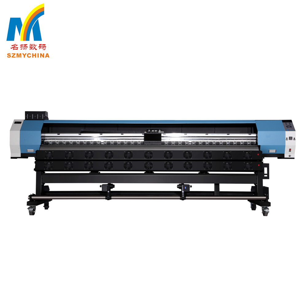 Stable Quality CE Vinyl , Sticker and Fabric 1440 DPI Printing Machine