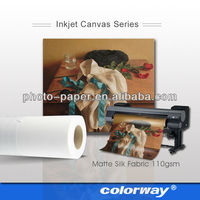 factory price 380g poly cotton digital pre printed canvas to paint