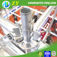 Widely used construction scaffolding pin lock scaffolding and layer scaffolding
