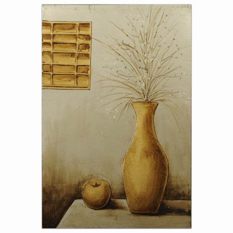 Pop art ceramic vase modern oil painting picture frame direct manufacturer