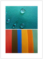 Melt-blown non-woven fabric for breathable and waterproof material