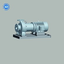 high pressure fuel waste oil transfer coupling magnetic pump