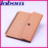 Poppin Pool Brown Medium Spiral Notebook From factory wholesales directly size A4 A5 A6