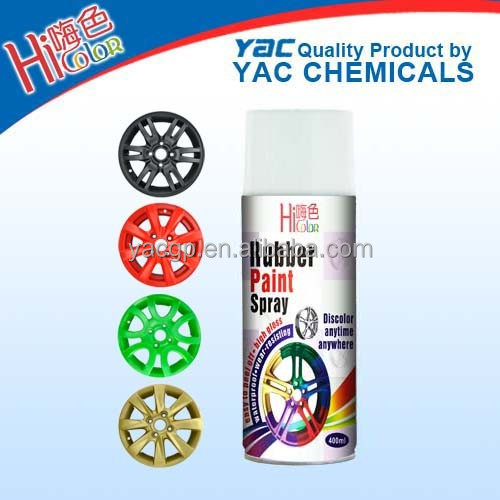 rubber car wheel & body paint spray