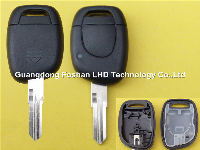 Auto Remote 1B Key Casing for Renault Twingo Master Car Key Blank Cover with battery place