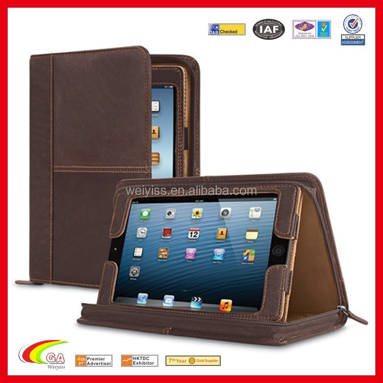 Leather Case for iPad mini 3 with Note Pad