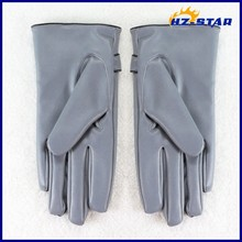 HZS-13051001 Top quality safety custom made leather gloves men driving