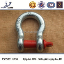 US type 1 3/8 shackle 13.5 T working load alloy bow shackle
