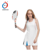 Sample provided jersey design maker online sublimation netball tennis wear