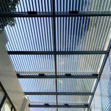 Guangdong Factory Price Aluminum Sunshade House Window Louvers