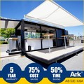 Ark Top Quality Good Price Long Lifespan Flatpack Prefabricated Steel Portable Swing Space