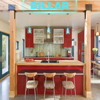 perfab simple small fitted kitchen cabinet carcass