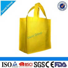 Promotional Customized Logo Printing reusable pp shopping bags, non woven tnt shopping bags