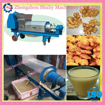 Double screw ginger juice machine/ginger juice extraction machine/ginger juice press machine//008613676951397