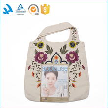 Fashionable best sell branded modern canvas handbag