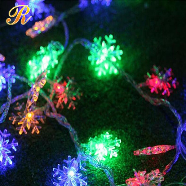 5M 40led Christmas decorative led string light snowflake white led light outdoor decoration light home & outdoor light