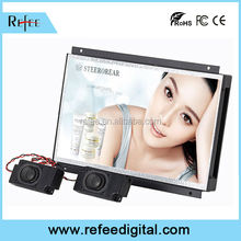 Alibaba TOP10 Seller,Refee Android solution 7 inch open frame lcd advertising in-store display