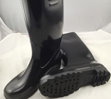 PVC steel toe gum boots/boots for construction/Steel toe Rain Boots