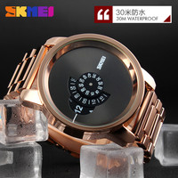 new coming metal wristwatch,alibaba skmei manufacturer luxury brand watch logo