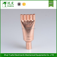 Residential systems copper pipe branch