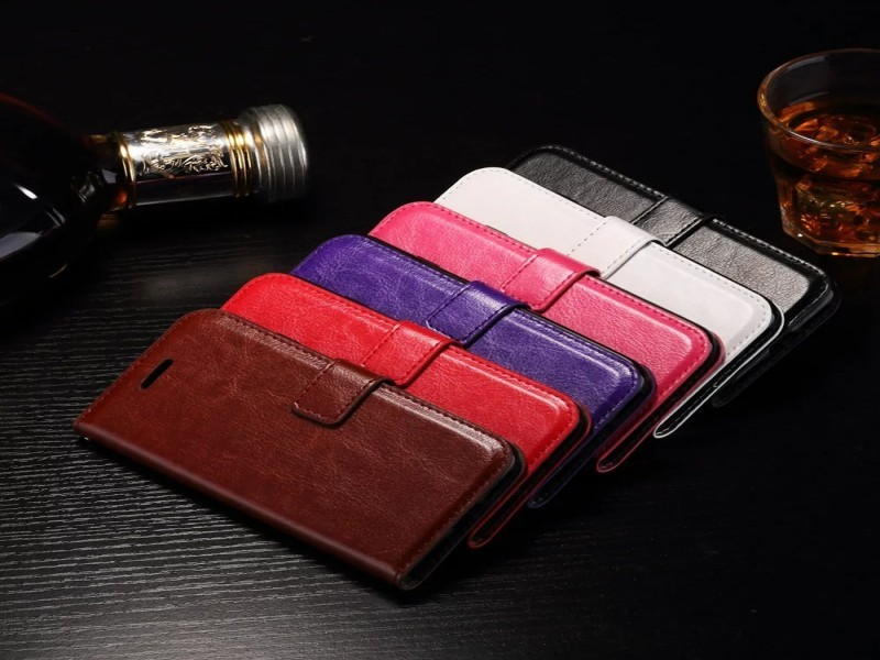 Universal Smart Phone Wallet Style Leather Case with Card Slot Case for iphone 7 7plus for iPhone 6 Phone Case