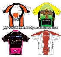 sublimation cycling Half sleeve jersey