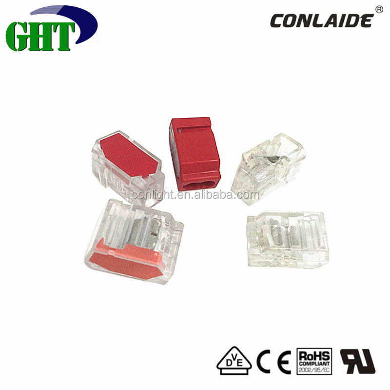 94-V2 Grade P01 Series 2 Pin Pushwire Junction Connector For Use In Power Houses