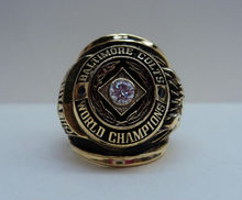1958 BALTIMORE COLTS WORLD CHAMPIONSHIP RING