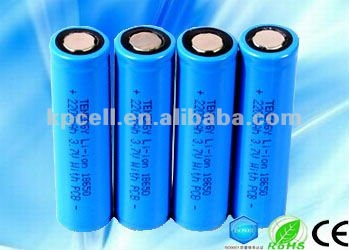 Eco friendly rechargeable 18650 li ion battery