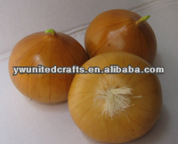Home decorative artificial vegetable, fake onion