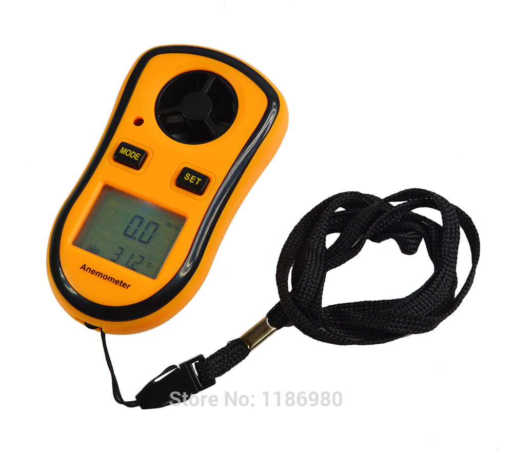 Pocket Smart Digital Measure Velocity Scale Anemometer