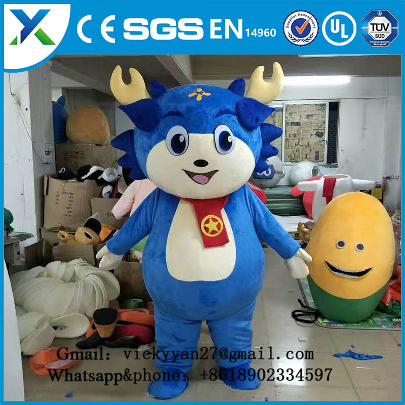 Lovely Outdoor inflatable dragon cat Inflatable Advertising Cartoon for sale