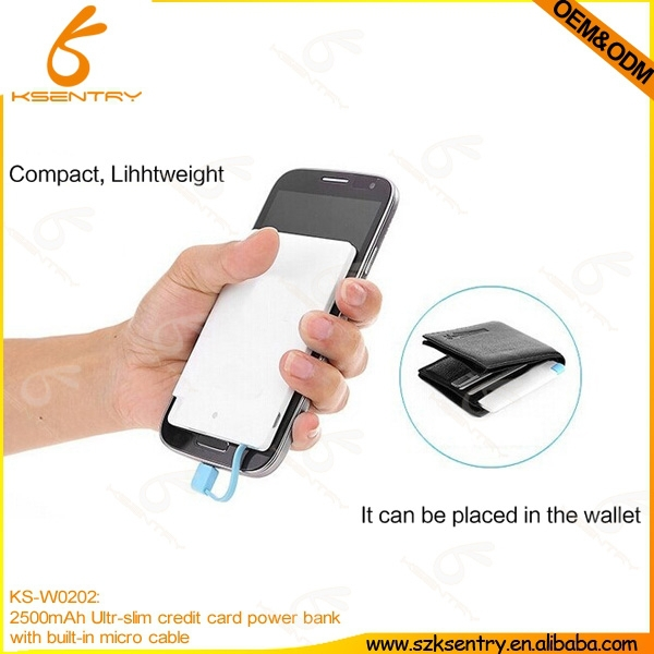 mobile power pack for cell phones,2500mAh battery,power bank 2500mah