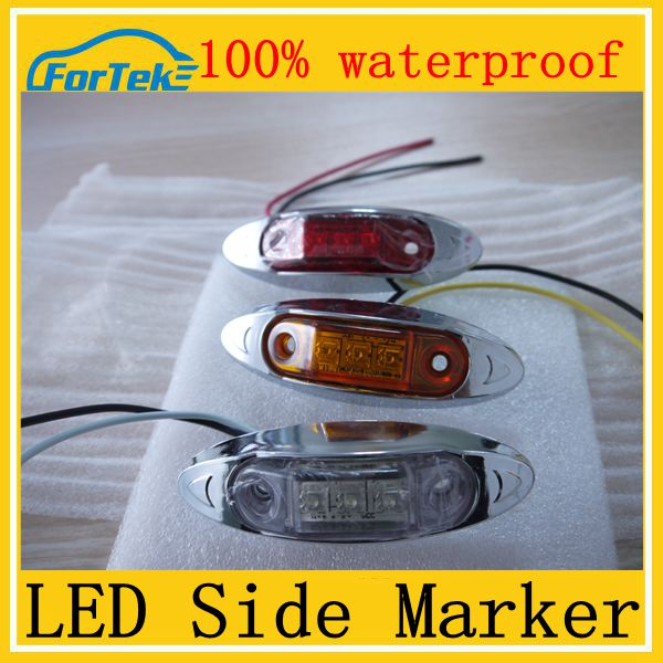 auto led side lamp for truck led side marker light Euro Emark Approved 100% waterproof