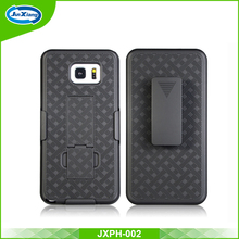 Superior quality weave back holster case for samsung galaxy note 5