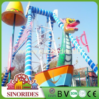 2018 Most popular deluxe rides small pirate ship kiddie amusement rdies for sale