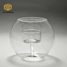 Heat Resistant Borosilicate Glass Candle Holder