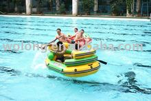amusing inflatable double drifting boat