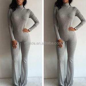 b096cf8d0714 Women Cotton Spandex Pants Bodysuit