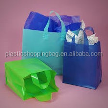 High Quality Imprinted Plastic Soft Loop Shopping Bag
