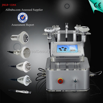 Cavitation vaccum rf ultrasonic slimming machine