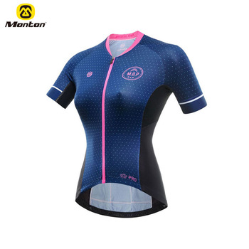Factory Price Team Cycling Clothing Bicycle Kit Tops Women