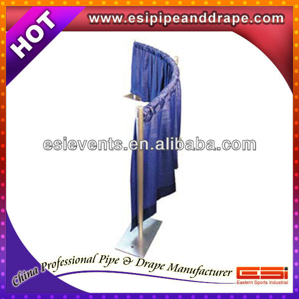 2013 ESI high quality pipe and drape displays with backdrops and trade show booths at the lowest price