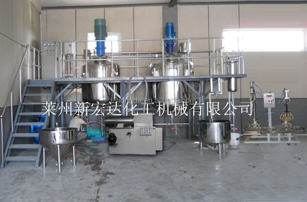 2016 series paint manufacturing equipment