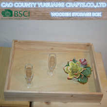 Unfinished Wooden Serving Tray rustic decor tray
