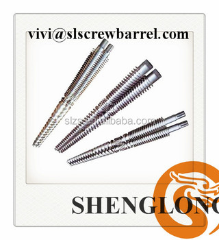 65/120 concial twin screw barrel for extruder