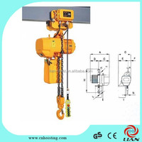Electric chain pump lifting hoist truck for sale