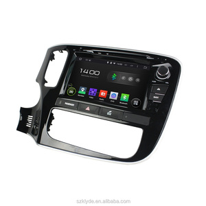 high quality factory price touch screen quad core android4.4 car dvd vcd cd mp3 mp4 player for outlander 2015
