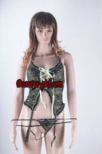 2013 Adjustable elastic-belt green Sexy Garter with Lace